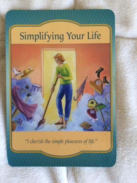 Simplifying Your Life, Gateway Oracle Card, Denise Linn, DeniseLinn.com